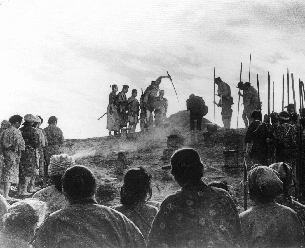 Фильм - Семь самураев (Сім самураїв, 1954)